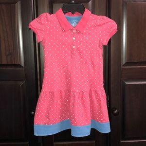 Girls Nautica Pink & Blue Dress